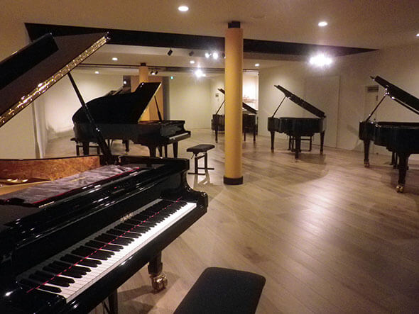 ピアノフォルティさんの内部
