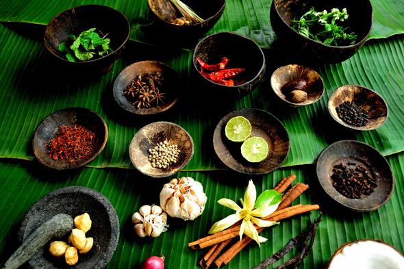 タイ料理にかかせない独特な素材たち