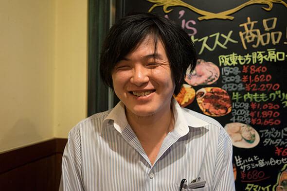 店長の島田さん