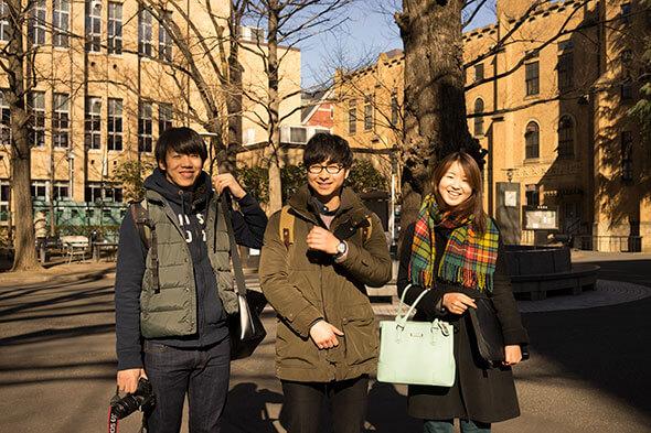 キラッキラの慶應大学生