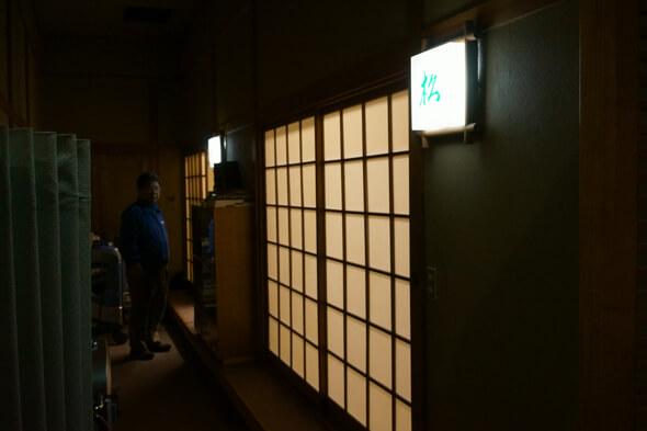この松と竹の和室は志村けんさんお気に入りの部屋