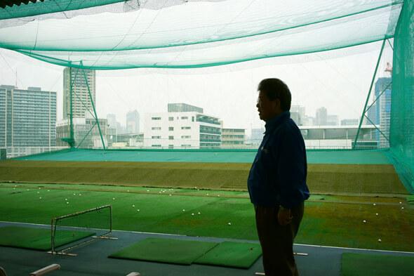 港区の打ちっぱなしとしては最大というゴルフ練習場