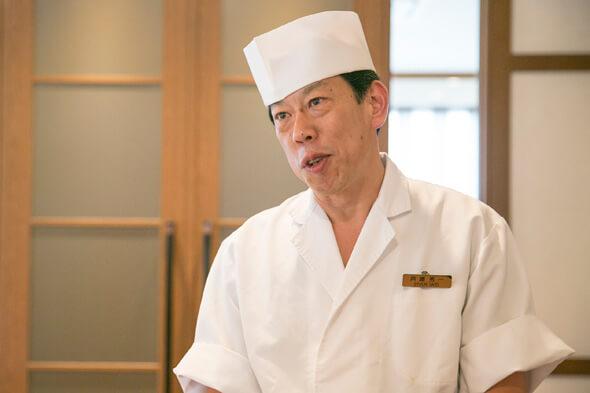 料理長登場!