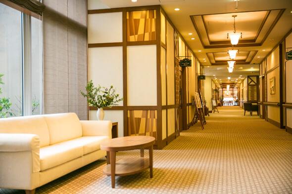 まるでホテルのような空間