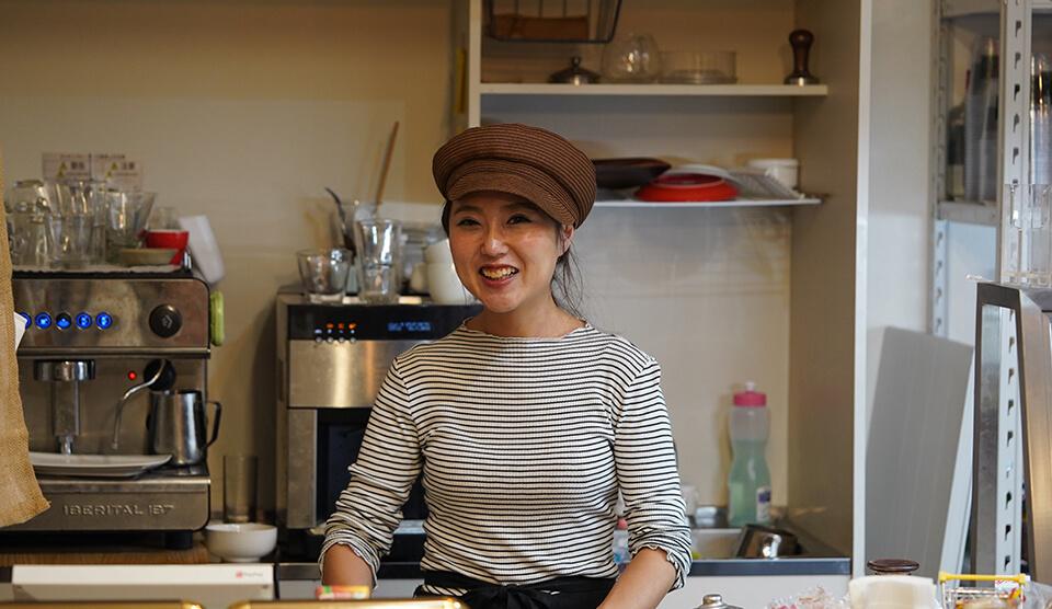 見つけにくさ田町No.1!? カフェ with 薬局の健康食バインミー