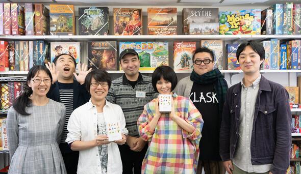 バンダイナムコがアナログゲーム!?田町で開発者に独占取材!