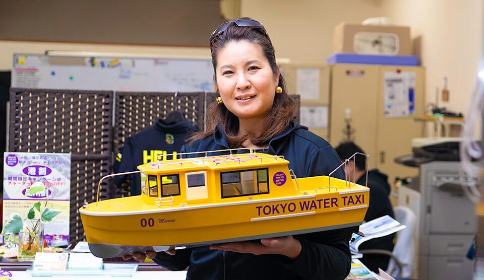 田町発祥の水上タクシー!? 2020年は東京の水辺がアツい!
